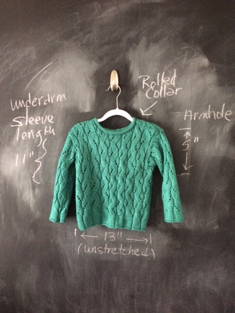 Boy's Knit Teal Pullover